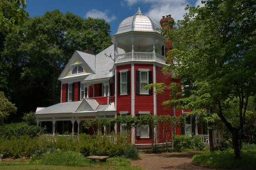 Washington GA Wilkes County Victorian House Photograph Copyright Brian Brown Vanishing North Georiga USA 2015