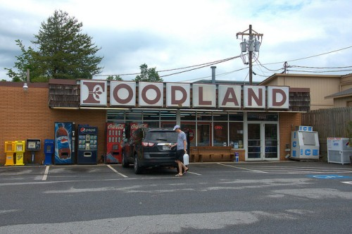 Foodland Grocery Store Blairsville GA Photograph Copyright Brian Brown Vanishing North Georgia USA 2015