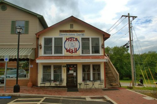 Hole in the Wall Cafe Diner Historic Blairsville Restaurant Photograph Copyright Brian Brown Vanishing North Georgia USA 2015