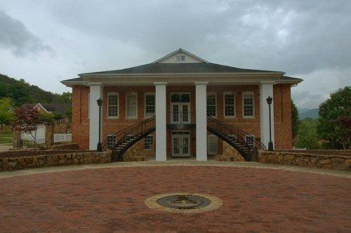 Sharp Hall Young Harris College Photograph Copyright Brian brown Vanishing North Georgia USA 2015