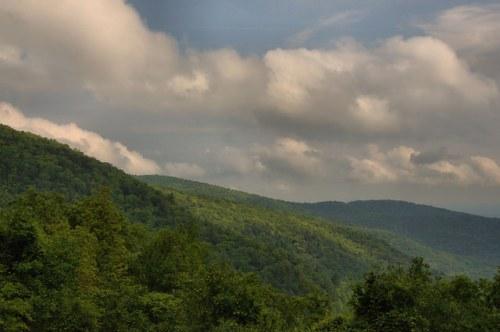Blood Mountain at Neel Gap Appalachian Trail Walasi Yi Center Union County GA Photograph Copyright Brian Brown Vanishing North Georgia USA 2015