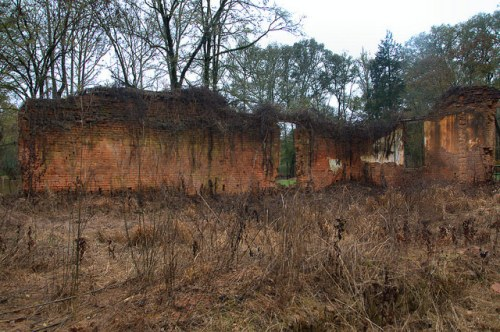 Ruins of Historic Warehouse Scull Shoals Oconee River Greene County GA Photograph Copyright Brian Brown Vanishing North Georgia USA 2015