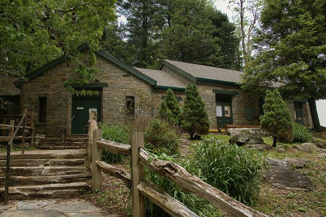 Walasi Yi Center Blood Mountain GA Appalachian Trail Photograph Copyright Brian Brown Vanishing North Georgia USA 2015