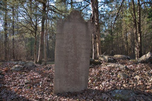 Locust Grove Oldest Catholic Cemetery in Georgia Sharon Taliaferro County Headstone Photograph Copyright Brian Brown Vanishing North Georgia USA 2016