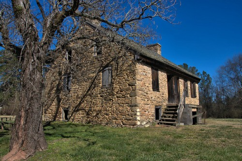 Rock House Thomas Ansley Wrightsboro Quaker Settlement McDuffie County GA Photograph Copyright Brian Brown Vanishing North Georgia USA 2016