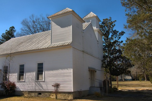 St. John AME Church Norwood GA Photograph Copyright Brian Brown Vanishing North Georgia USA 2016