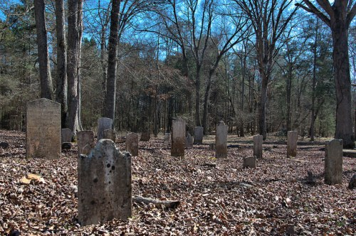 Wrightsboro Methodist Church Cemetery Photograph Copyright Brian Brown Vanishing North Georgia USA 2016