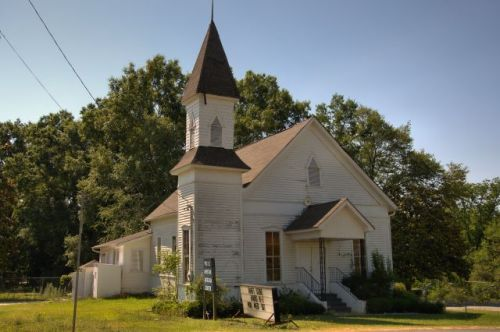 molena ga old baptist church photograph copyright brian brown vanishing north georgia usa 2016