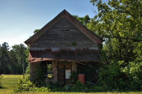 Neal GA Pike County Abandoned Country Store Photograph Copyright Brian Brown Vanishing South Georgia USA 2016