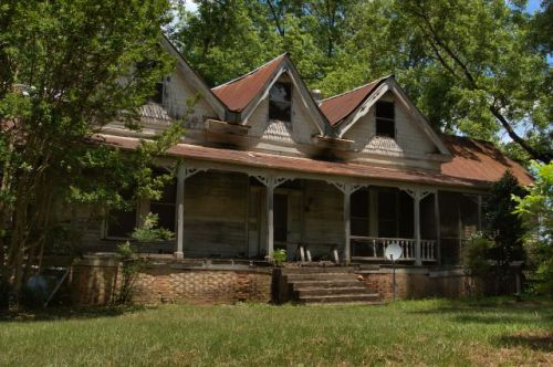 chalybeate springs ga queen anne house photograph copyright brian brown vanishing north georgia usa 2016