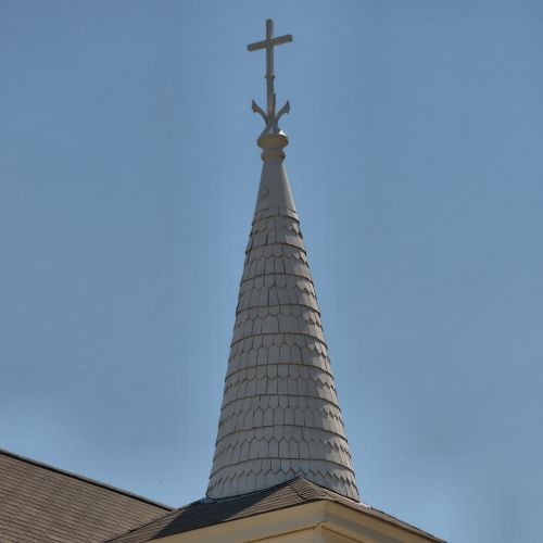 historic bethel baptist church steeple rocky mount baptist church photograph copyright brian brown vanishing south georgia usa 2016