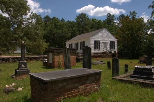 historic greenville presbyterian church graveyard meriwether county ga photograph copyright brian brown vanishing north georgia usa 2016