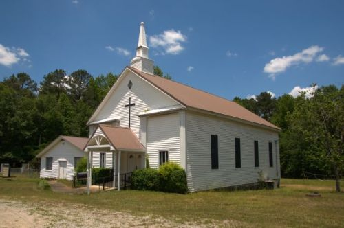 historic harris city baptist church photograph copyright brian brown vanishing north georgia usa 2016