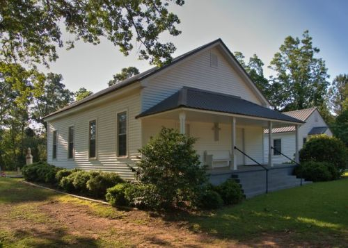 historic raleigh methodist church meriwether county ga photograph copyright brian brown vansihing north georgia usa 2016