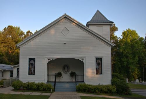 historic salem baptist church raleigh ga photograph copyright brian brown vanishing north georgia usa 2016
