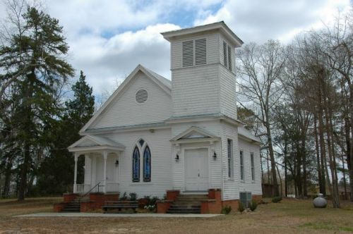 historic shiloh methodist church harris county ga photograph copyright brian brown vanishing north georgia usa 2016