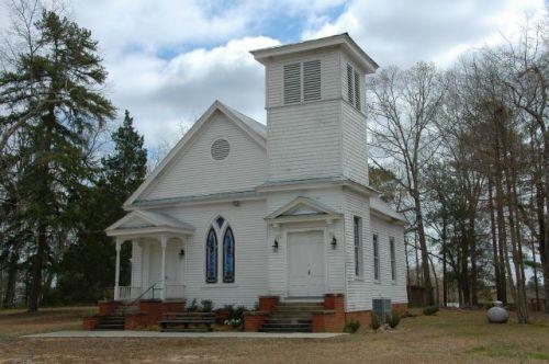 historic shiloh methodist church harris county ga photograph copyright brian brown vanishing north georgia usa 2016