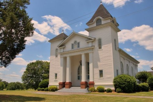 historic trinity methodist church durand ga photograph copyright brian brown vanishing north georgia usa 2016