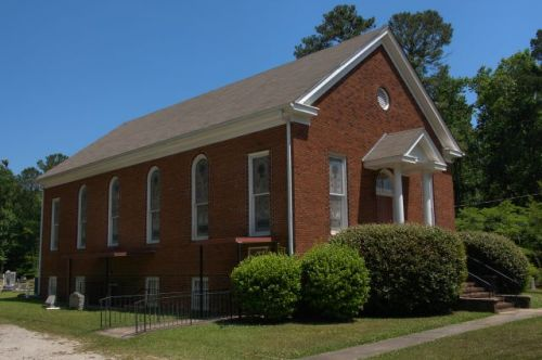 lone oak ga historic old prospect methodist church allen lee memorial photogrpah copyright brian brown vanishing north geoorgia usa 2016