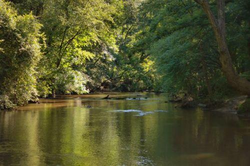 red oak creek meriwether county ga photograph copyright brian brown vanishing north georgia usa 2016