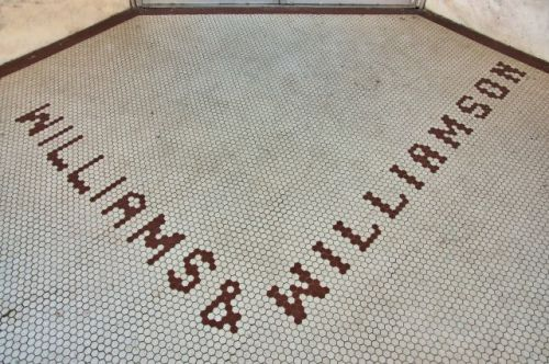 woodbury ga williams williamson tile entrance photograph copyright brian brown vanishing north georgia usa 2016