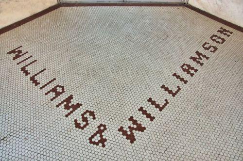 woodbury ga williams williamson tile entrance photograph copyright brian brown vanishing north georgia usa 2016