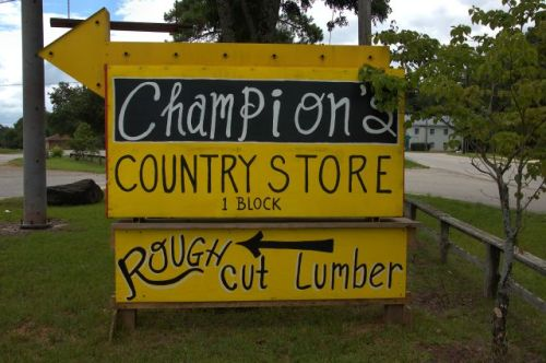 champions country store shady dale ga rough cut lumber photograph copyright brian brown vanishing north georgia usa 2016