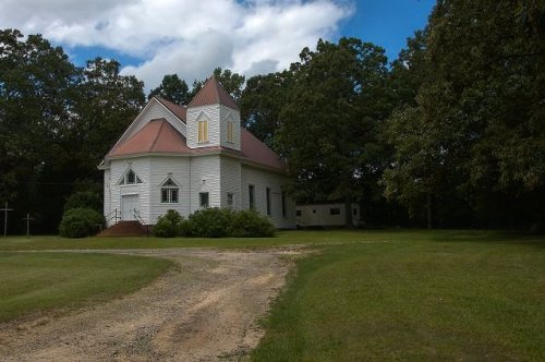 historic calvary united methodist church shady dale ga photograph copyright brian brown vanishing north georgia usa 2016