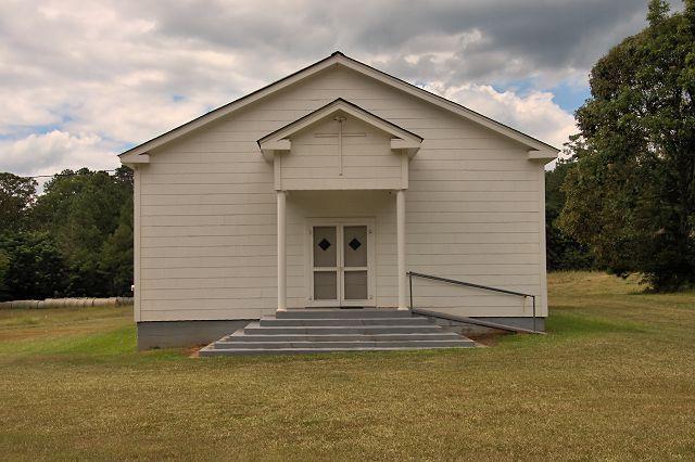 historic godfrey united methodist church morgan county ga photograph copyright brian brown vanishing north georgia usa 2016