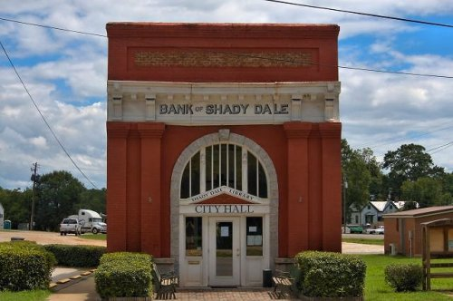 shady dale ga city hall photograph copyright brian brown vanishing north georgia usa 2016