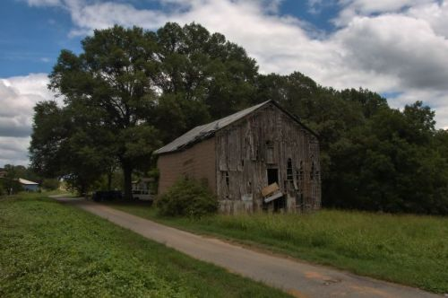 shady dale ga storage barn photograph copyright brian brown vanishing north georgia usa 2016