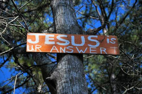 hall-county-ga-jesus-sign-photograph-copyright-brian-brown-vanishing-north-georgia-usa-2017