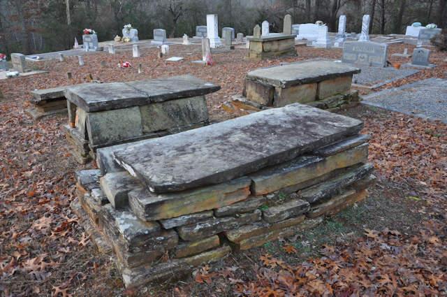 historic-mount-gilead-baptist-church-cemetery-garland-ga-soapstone-tombs-photograph-copyright-brian-brown-vanishing-north-georgia-usa-2017
