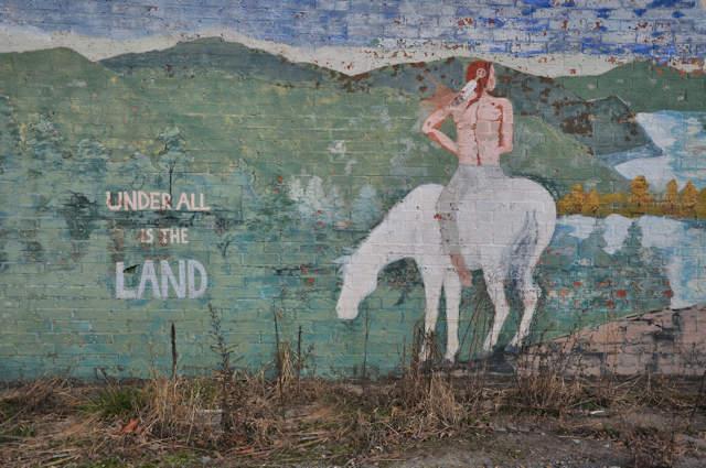 Morganton Ga Environmental Native American Mural Photograph Copyright  Part 62