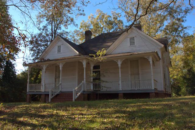 Folk Victorian Houses Monticello Vanishing North Georgia